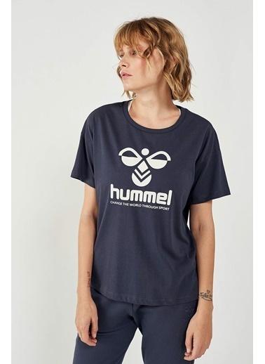 Hummel Voder Kısa Kollu Tışört Mavi